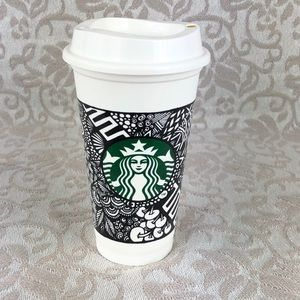 Starbucks Doodle Reusable Hot Cup